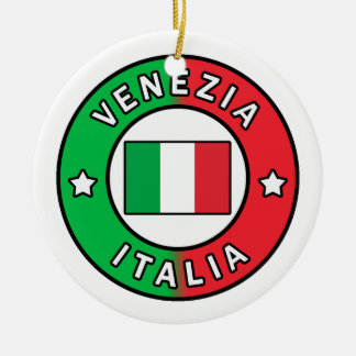 Venezia Italia Ceramic Ornament