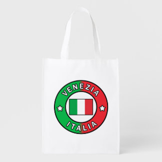 Venezia Italia Reusable Grocery Bag
