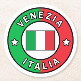 Venezia Italia Round Paper Coaster