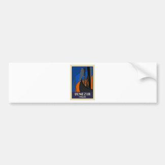 Venezia Italy Bumper Sticker