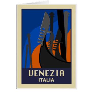 Venezia Italy Card
