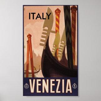 Venezia Italy, ITALY Poster