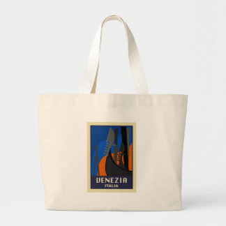 Venezia Italy Large Tote Bag