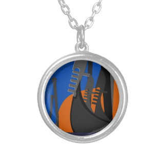 Venezia Italy Silver Plated Necklace