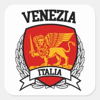 Venezia Square Sticker