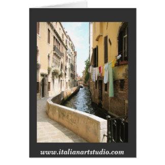 Venezia- Venice  www.italianartstudio.com Card