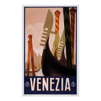 Venezia - Vintage Italian Travel Poster