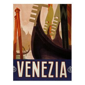 Venezia vintage travel picture postcard