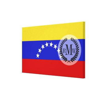 Venezuala Flag Canvas Print