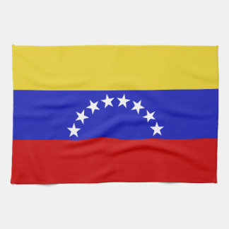 Venezuala Flag Hand Towels