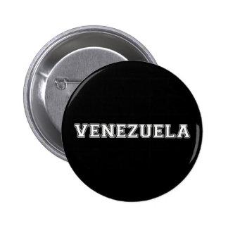 Venezuela 2 Inch Round Button