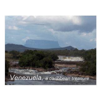 Venezuela, , a caribbean treasure postcard
