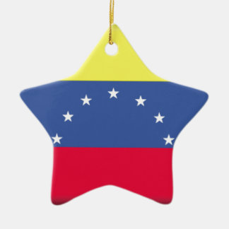 Venezuela Ceramic Ornament