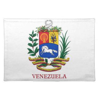 VENEZUELA - emblem/coat of arms/flag/symbol Placemat