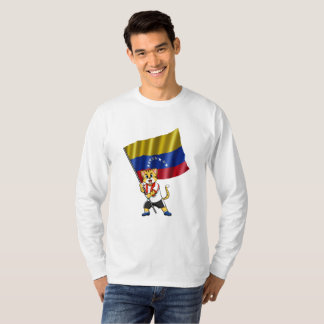 Venezuela fan cat T-Shirt
