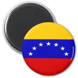 Venezuela Flag 2 Inch Round Magnet