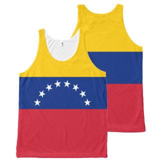 Venezuela Flag All-Over-Print Tank Top