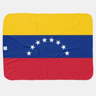 Venezuela Flag Baby Blanket
