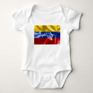 Venezuela Flag Baby Jersey Bodysuit