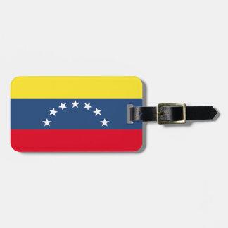 Venezuela Flag Bag Tag