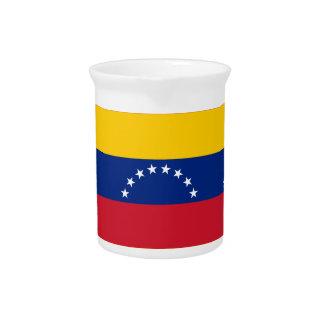 Venezuela Flag Beverage Pitcher