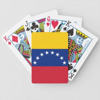 Venezuela Flag Bicycle Playing Cards