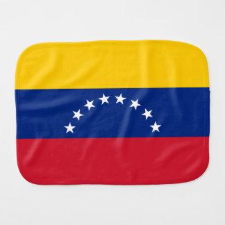 Venezuela Flag Burp Cloth