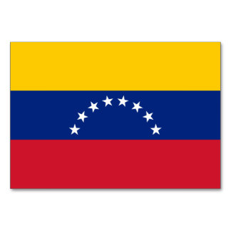 Venezuela Flag Card