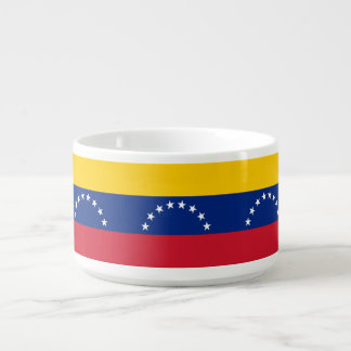 Venezuela Flag Chili Bowl