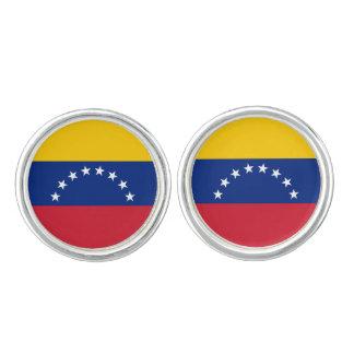 Venezuela Flag Cufflinks