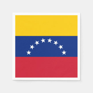 Venezuela Flag Disposable Napkin