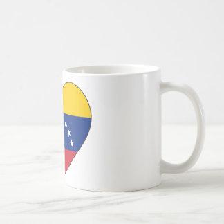 Venezuela Flag Heart Coffee Mug