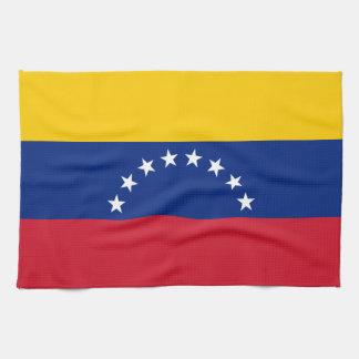Venezuela Flag Kitchen Towel