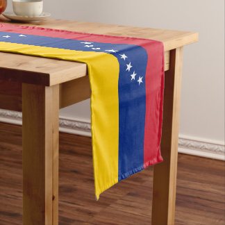 Venezuela Flag Long Table Runner