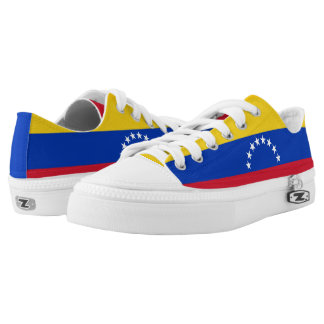 Venezuela Flag Low-Top Sneakers