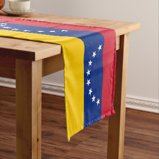 Venezuela Flag Medium Table Runner