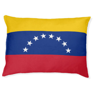 Venezuela Flag Pet Bed
