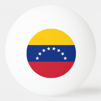 Venezuela Flag Ping-Pong Ball