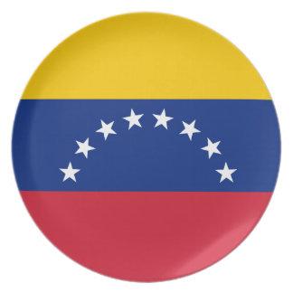 Venezuela Flag Plate