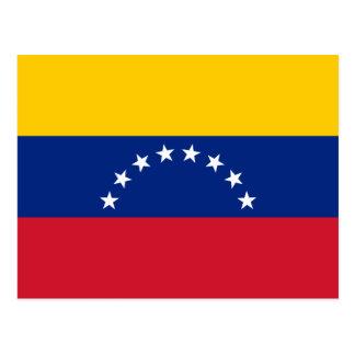 Venezuela Flag Postcard