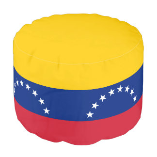 Venezuela Flag Pouf
