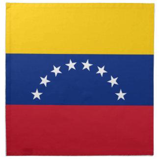 Venezuela Flag Printed Napkins