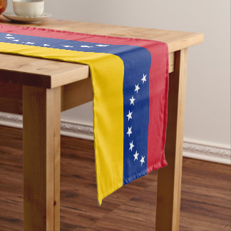 Venezuela Flag Short Table Runner