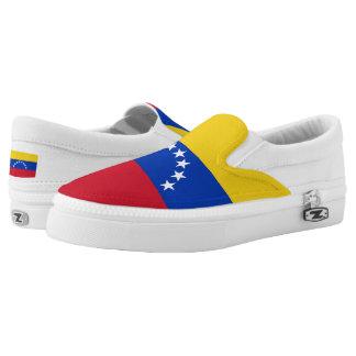 Venezuela Flag Slip-On Sneakers