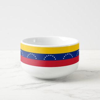 Venezuela Flag Soup Mug