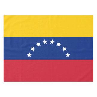 Venezuela Flag Tablecloth