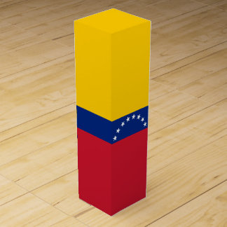 Venezuela Flag Wine Box