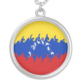 Venezuela Gnarly Flag Pendant