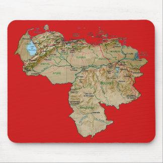 Venezuela Map Mousepad