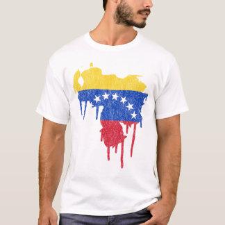 Venezuela Paint Drip T-Shirt